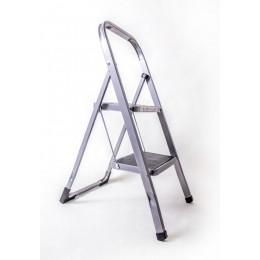 Стремянка-лестница ALOFT SLS-02 бытовая 2 ступени с резинопластиковым покрытием