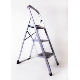 Стремянка-лестница ALOFT SLS-03 бытовая 3 ступени с резинопластиковым покрытием