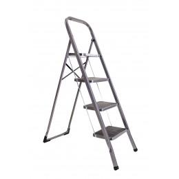 Стремянка-лестница ALOFT SLS-04 бытовая 4 ступени с резинопластиковым покрытием