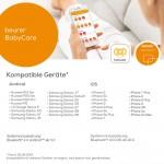 Весы для новорожденных Beurer BY 90