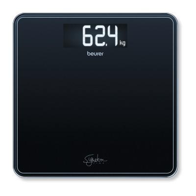 Стеклянные весы Beurer GS 400 Line (черные)
