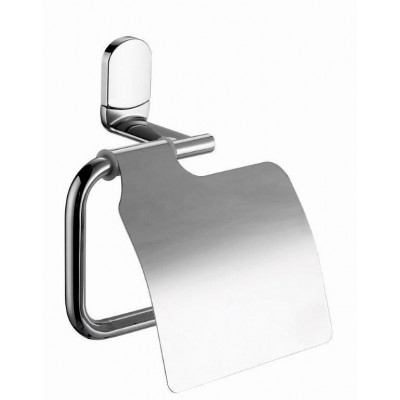 Держатель туалетной бумаги с крышкой Bisk 07682 VIGO