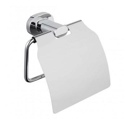 Держатель для туалетной бумаги с крышкой Bisk 07029 GO