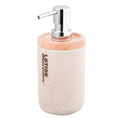 Дозатор для жидкого мыла Bisk 07567 DAKAR бежевый