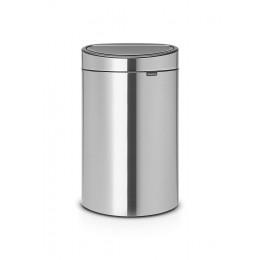Бак для мусора Brabantia 114809 Touch Bin New 40 л