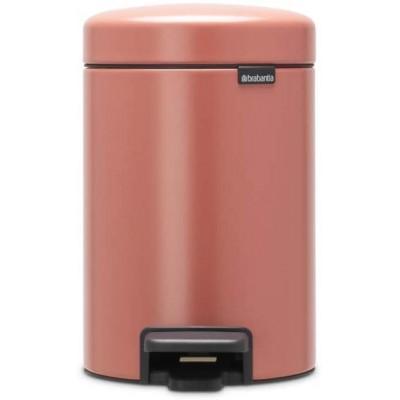 Бак для мусора на 3 литра  Brabantia 304286 Терракотово-розовый