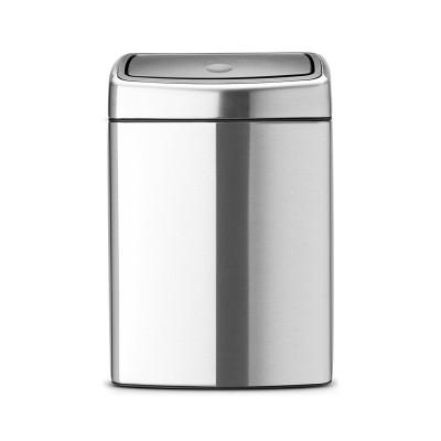 Бак для мусора Brabantia 477225 Touch Bin 10 л