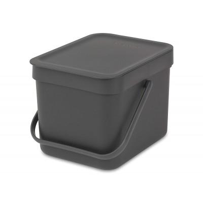 Ведро для мусора Brabantia 109720 'Sort & Go' 6 л
