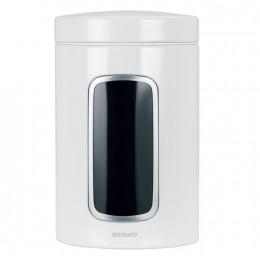 Емкость Brabantia для хранения сыпучих продуктов с окном 1,4л