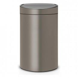 Двухсекционный мусорный бак Brabantia 117909 Touch Bin 10/23 л