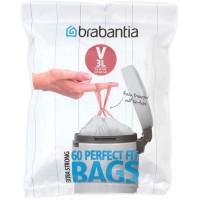 """Пакеты для мусора 3 л, Brabantia 116803 """"V"""", 60 шт"""