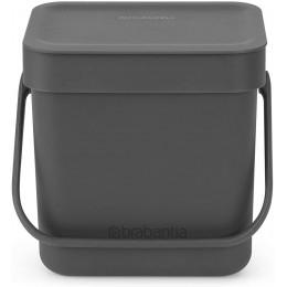 Ведро мусорное Brabantia 209888 Sort & Go 3 л