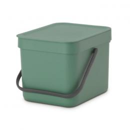 Ведро для мусора Brabantia 129841 'Sort & Go' 6 л