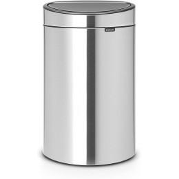 Бак для мусора двухсекционный Brabantia 112867 Touch Bin New 10/23 л