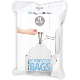 "Набор мусорных пакетов (50/60 л) Brabantia 375705  ""H"", 30 шт"