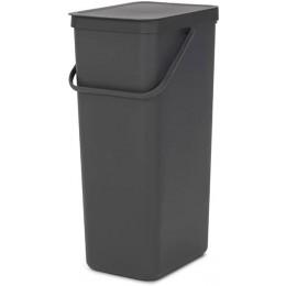 Ведро мусорное Brabantia 251047 Sort & Go 40 литров