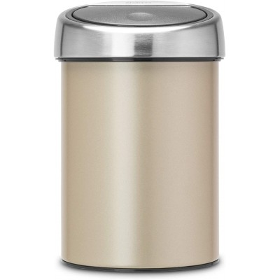 Бак для мусора 3 л Brabantia 304668 Touch Bin Шампань