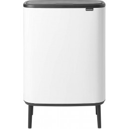 Бак для мусора 60 л Brabantia 130205 Bo Touch Bin Hi Белый