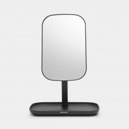 Зеркало с лотком для хранения Brabantia 280702 Темно-серый