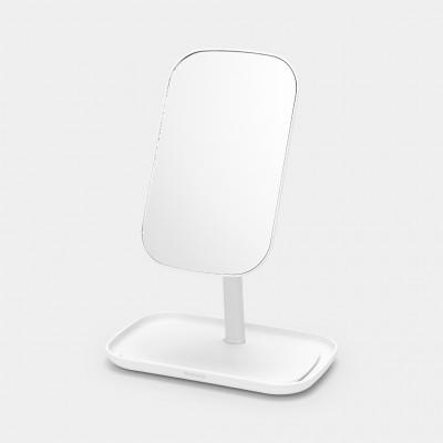 Зеркало с лотком для хранения Brabantia 280726 Белый
