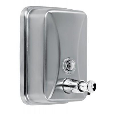 Дозатор жидкого мыла EFOR METAL 376P нержавеющая сталь матовая 500 мл