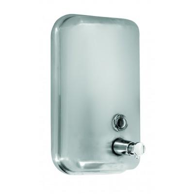 Дозатор жидкого мыла EFOR METAL 3770 нержавеющая сталь матовая 1л