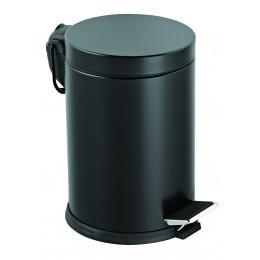 Корзина EFOR METAL 315S черная с педалью 12 л