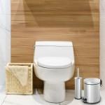 Набор для ванной EFOR METAL 477M из нержавеющей стали (корзина 3л + щётка микро)