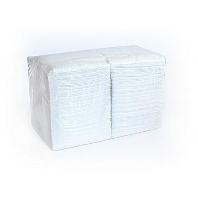 Салфетки столовые бумажные ЕКО+ 15151 белые 500 шт