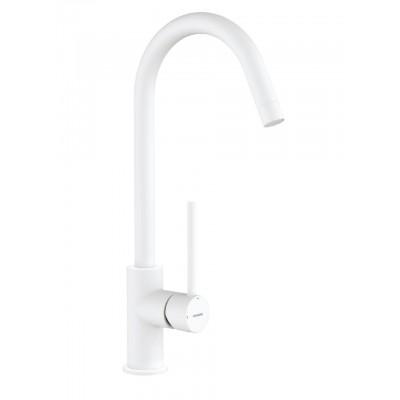 Смеситель для кухонной раковины Tau White (65403184066)