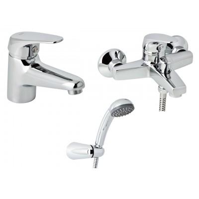 Набор смесителей для ванны без штанги GENEBRE Ge2 03GE2-bath (61130224566+60100224566)