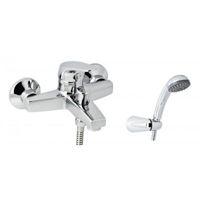 Смеситель для ванны GENEBRE Ge2 с душевым гарнитуром (60100224566)
