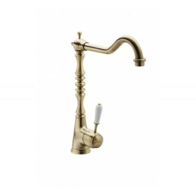 Однорычажный смеситель для кухонной раковины GENEBRE NRC bronze (68201394366)