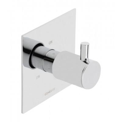 Встраеваемый переключатель на 3 зоны Genebre Tau-switch3 (65114304566)