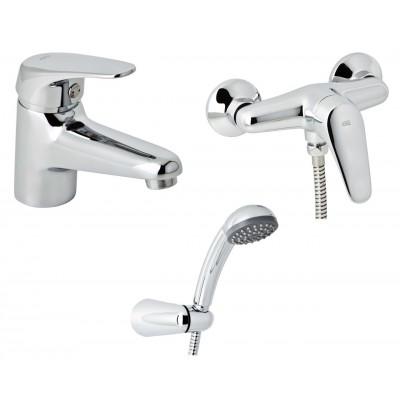 Набор смесителей для душа без штанги GENEBRE Ge2 03GE2-shower (61130224566+60110224566)