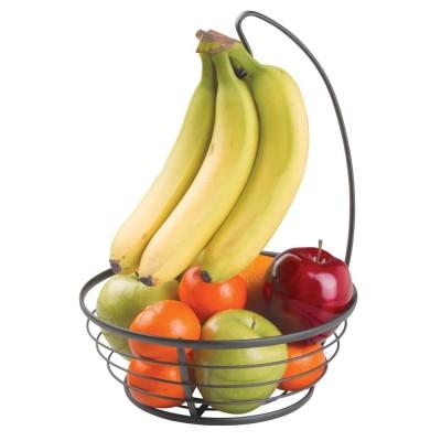 Корзина для фруктов с крючком для бананов InterDesign 59877EU Axis