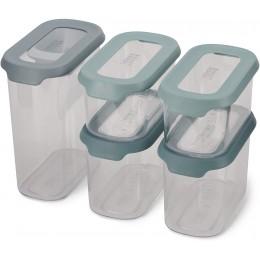 Набор из пяти контейнеров Joseph Joseph 81113 CupboardStore для хранения в шкафу