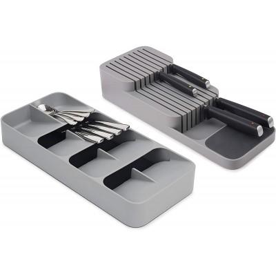 Набор органайзеров Joseph Joseph 85188 Drawerstore для столовых приборов и ножей, 2 шт