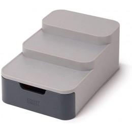 Компактный ярусный органайзер Joseph Joseph 85145 CupboardStore с выдвижным ящиком