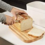 Хлебница с крышкой 18x37x22 см Joseph Joseph 81097