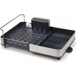 Раздвижная сушка для посуды Joseph Joseph 85153 Extend Steel из нержавеющей стали