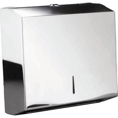 Держатель JVD 899798 Inox для всех типов листовых бумажных полотенец V, Z, сложения