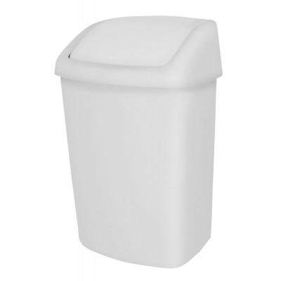 Корзина для мусора на 25 л JVD 8991084 с качающейся крышкой