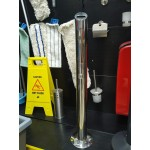 Пепельница напольная JVD 8991079 из нержавеющей стали 1.4 л