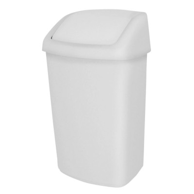 Корзина для мусора на 50 л JVD 8991085 с качающейся крышкой