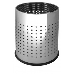 Корзина круглая JVD 899545 открытая для мусора, объём 10 л