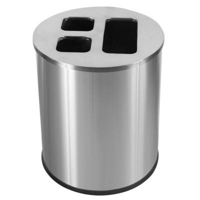 Корзина 40 л для сортировки мусора JVD 8991005