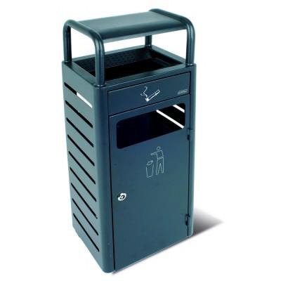 Напольная пепельница с секцией под мусор на 20 л JVD 8991008
