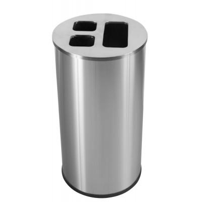 Корзина 60 л для сортировки мусора JVD 8991081