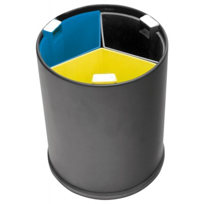Корзина 13 л для сортировки мусора JVD 8991086